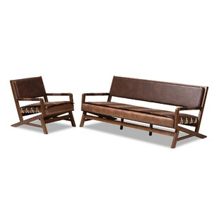 Compare & Buy Phoenix 2 Piece Living Room Set by Union Rustic Reviews (2019) & Buyer's Guide