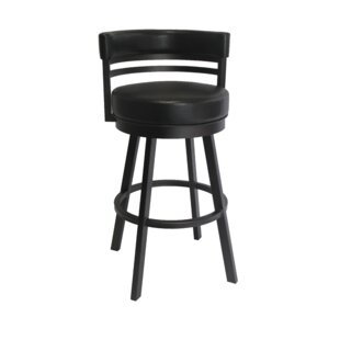 Chamisa 30 Swivel Bar Stool Ebern Designs