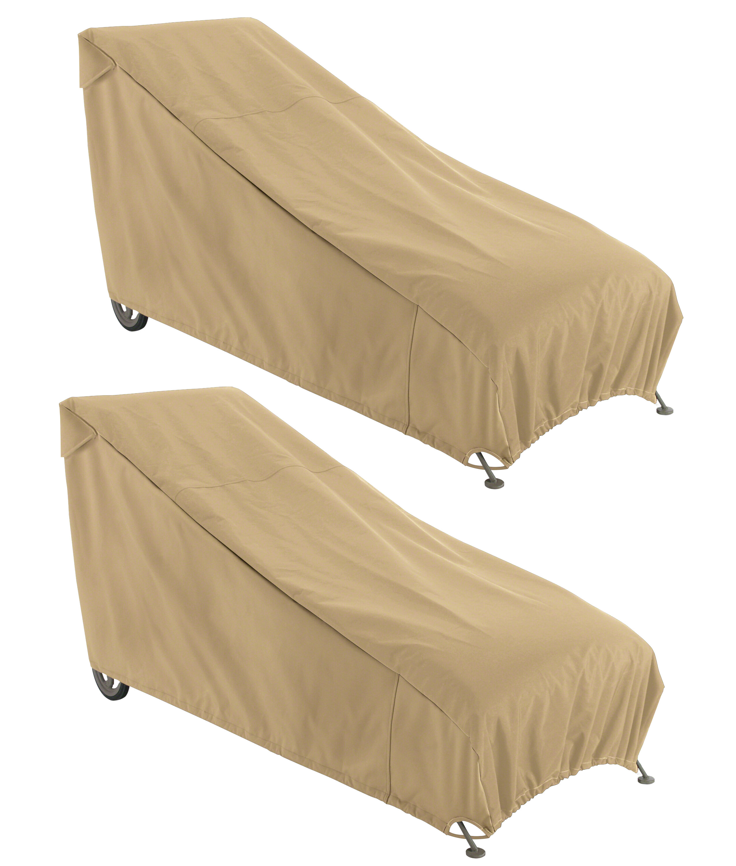 - Freeport Park Jelani Breathable Patio Chaise Lounge Covers Wayfair