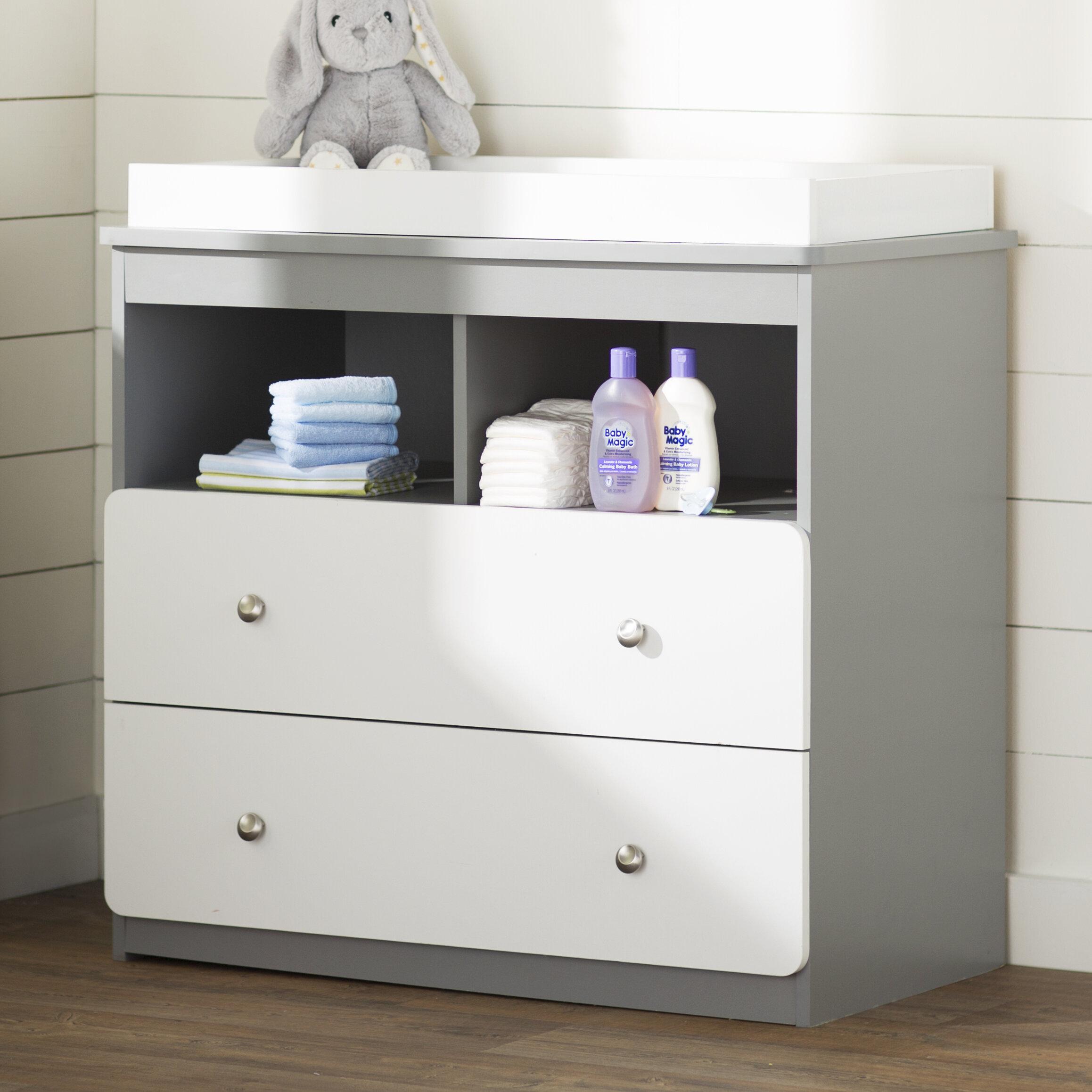 baby wayfair drawer grey reviews pdx davinci kalani changing kids dresser table