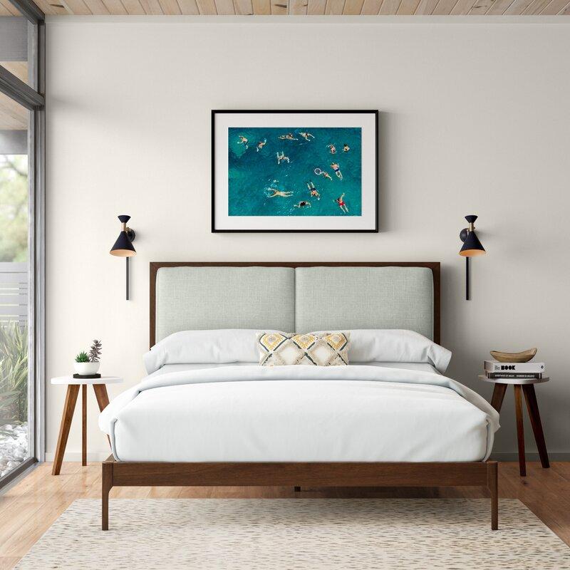 Evalyn Upholstered Low Profile Platform Bed Reviews Allmodern