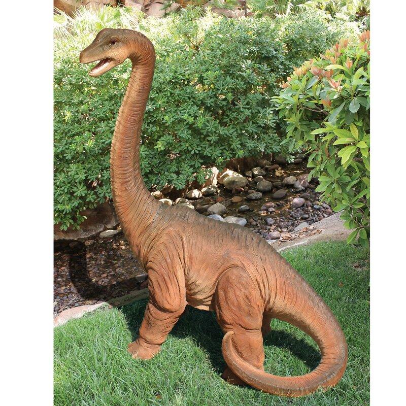 Lovely Scaled Jurassic Brachiosaurus Dinosaur Statue