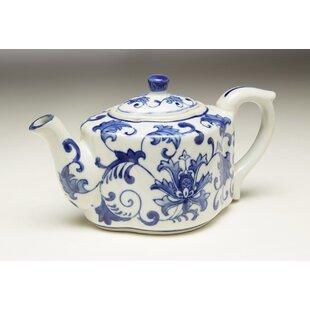 Finkbeiner Floral Design Porcelain Teapot