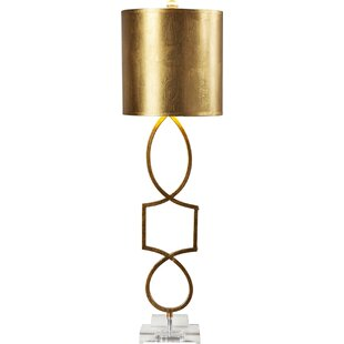 Modern contemporary table lamps allmodern rodger 34 table lamp mozeypictures Choice Image