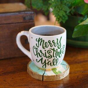 Merry Christmas Y'all Jumbo Mug