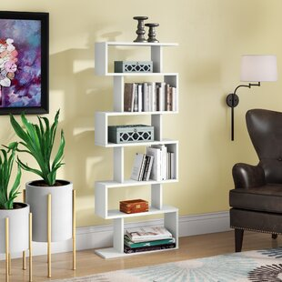 Gebhardt Modern Geometric Bookcase by Ebern Designs 2019 Sale