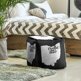 Cleveland Ohio Cube Ottoman by East Urban Home