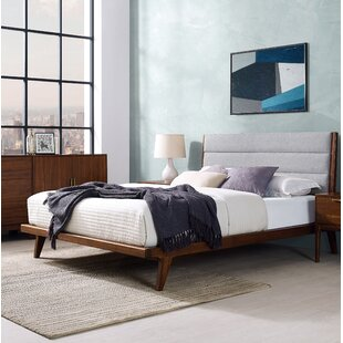 Mercury Upholstered Platform Bed