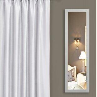 Latitude Run Rectangle Metal Framed Wall Mirror