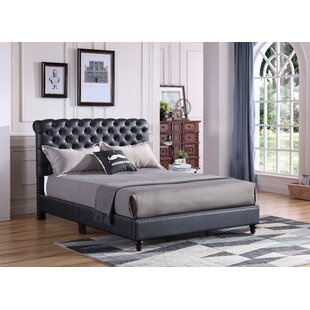 Chilcote Tufted Upholstered Bed by DarHome Co Purchase