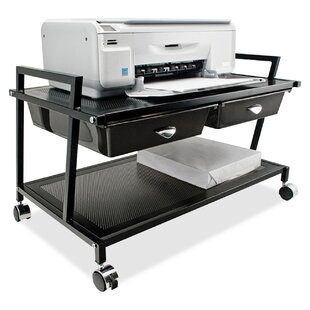 Comparison Mobile Printer Stand with Drawer by Vertiflex