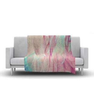 Mmartabc Galactic Abstract Multicolor Digital Fleece Blanket By East Urban Home