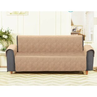 Price comparison T-Cushion Sofa Slipcover by Winston Porter Reviews (2019) & Buyer's Guide