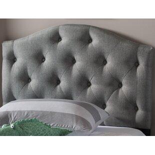 Lindeman Twin Upholstered Panel Headboard by Harriet Bee