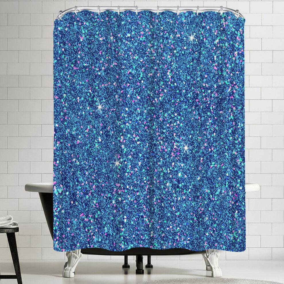 East Urban Home Wonderful Dream Diamond Sparkly Single Shower Curtain Wayfair