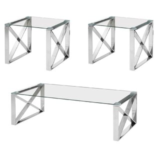 Kelvin 3 Piece Coffee Table Set