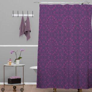 Compare prices Banda 1 Shower Curtain ByBrayden Studio