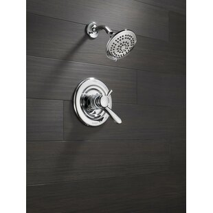 Lahara Shower Faucet Trim with Lever Handles and Monitor by Delta