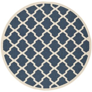 Herefordshire Blue Indoor/Outdoor Area Rug by Winston Porter