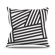 Stripes by Louise Machado Throw Pillow