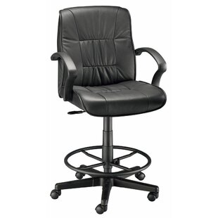 Mid-Back Leather Drafting Chair by Alvin and Co. Comparison