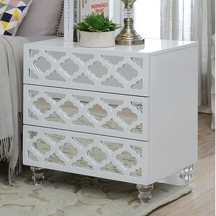 Buy clear Botelho 3 Drawer Nightstand By Rosdorf Park
