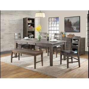 Glenwood Pines Extendable Dining Table by Vilo Home Inc.