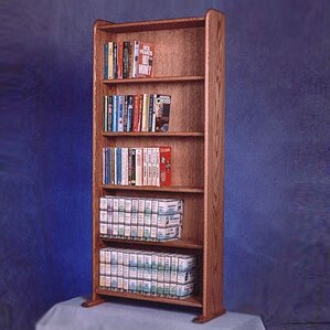 500 Series 200 DVD Multimedia Storage Rack b..