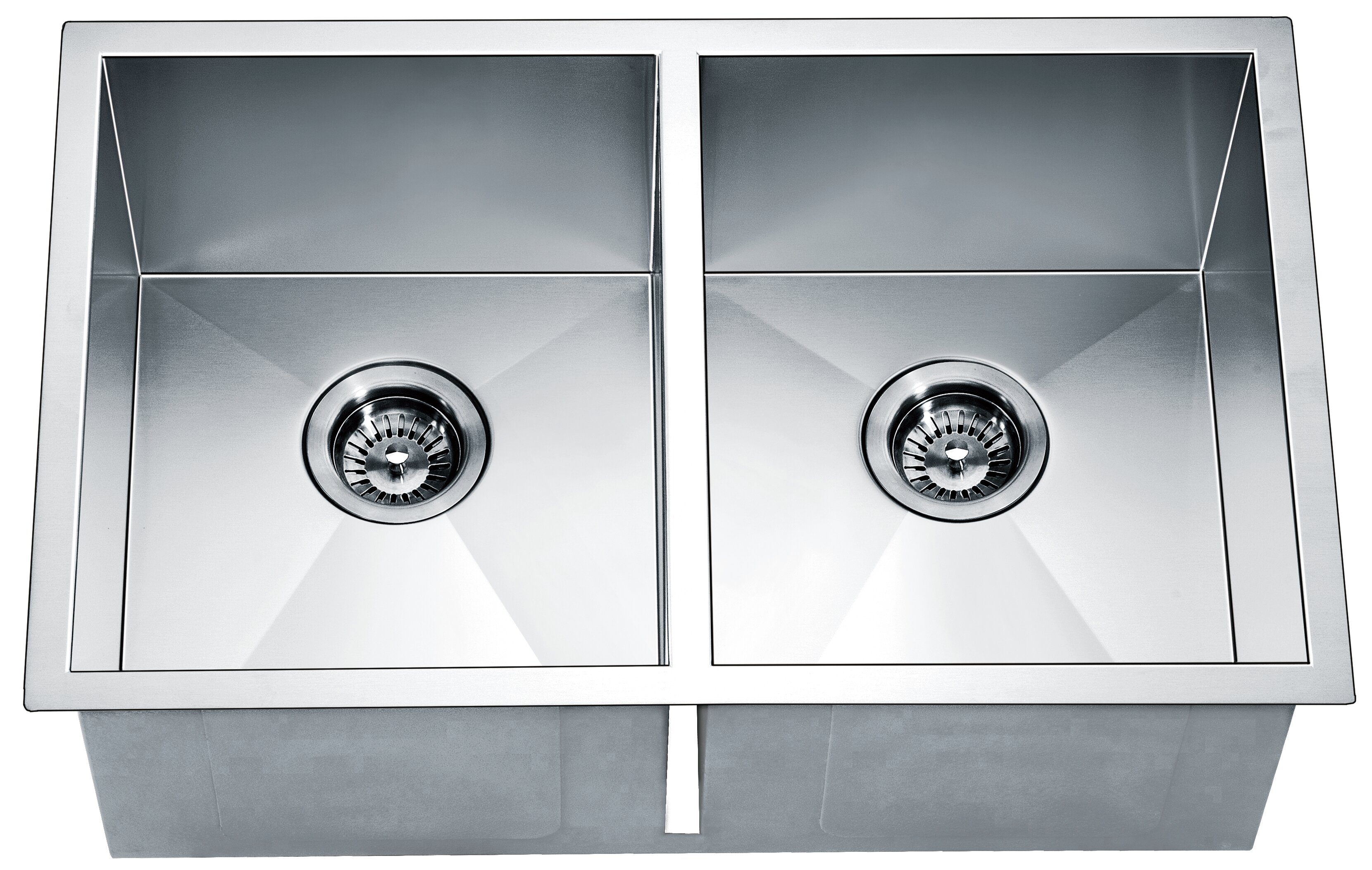 Esq270909 29 L X 18 W Double Basinl Undermount Kitchen Sink