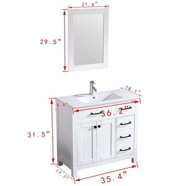 Tatahance 18 Single Bathroom Vanity Set With Mirror Wayfair