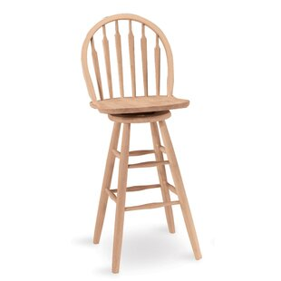 Toby 30 Swivel Bar Stool by August Grove