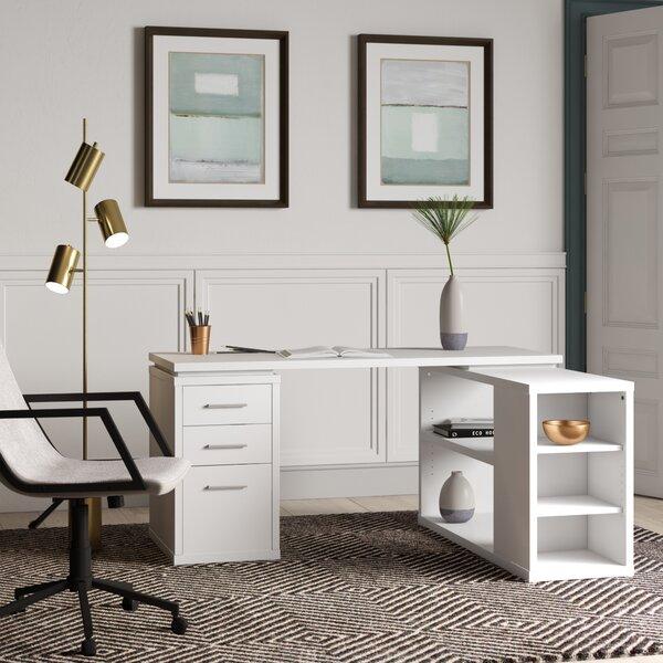 Mercury Row Senga Reversible L Shape Executive Desk