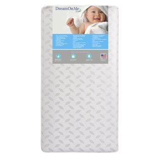 Innerspring 7 Crib & Toddler Mattress By Dream On Me