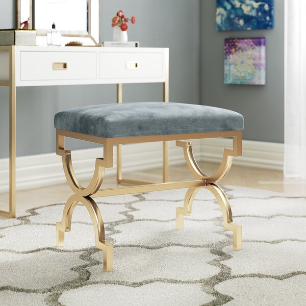 Fabulous Vanity Benches And Stools Wayfair Theyellowbook Wood Chair Design Ideas Theyellowbookinfo