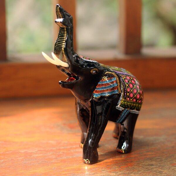Wood Elephant Wayfair