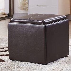 Caddy Storage Ottoman