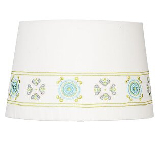 Aqua lamp shade wayfair 11 empire lamp shade aloadofball Choice Image