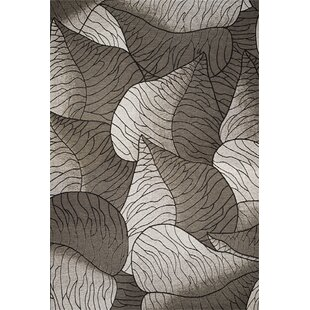 Saratoga Gray & White Fauna Indoor/Outdoor Area Rug