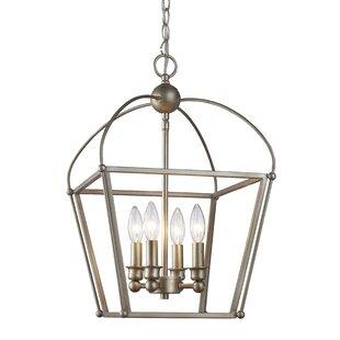Top Reviews Gladding 4-Light Foyer Lantern Pendant By Laurel Foundry Modern Farmhouse