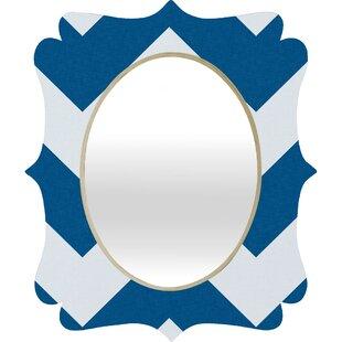 Deny Designs Holli Zollinger Chevron Baroque Wall Mirror