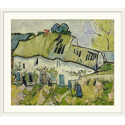 Dream-art Oil painting Vincent Van Gogh Abstract landscape camp houses canvas