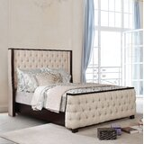 Akridge Tufted Upholstered Standard Bed by Darby Home Co