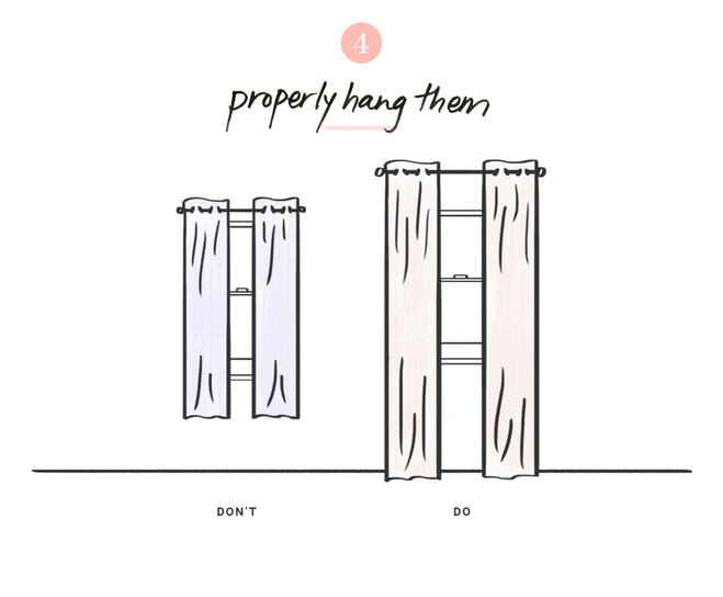 Length And Material As They Are About Proper Fit Placement Installed Correctly Curtains Can Help Complement The Architecture Of An Entire Room