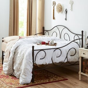 Yolanda Metal Scroll Daybed