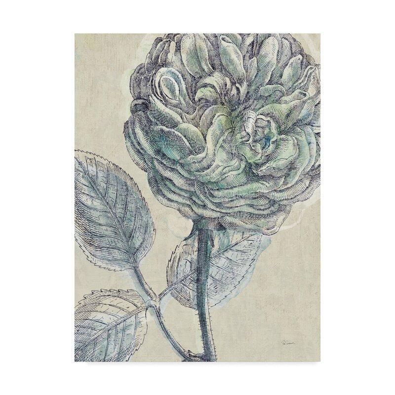 Gracie Oaks Belle Fleur Iii Crop Acrylic Painting Print On Wrapped Canvas Wayfair