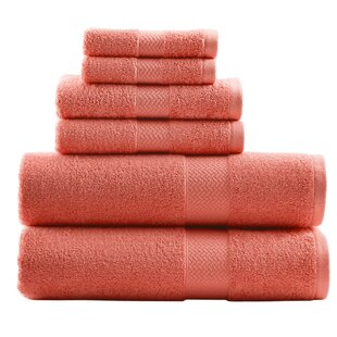 Tb Cypress Bay 6 Piece 100% Cotton Towel Set