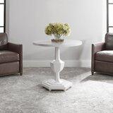 Kenhorst Pedestal End Table by Red Barrel Studio®