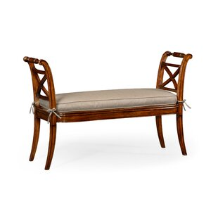 High Arms Upholstered Bench by Jonathan Charles Fine Furniture Purchase