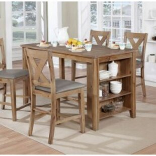 Dugas 5 Piece Pub Table Dining Set