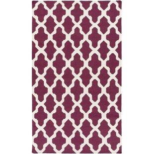 Order Bangor Purple Geometric Area Rug ByEbern Designs